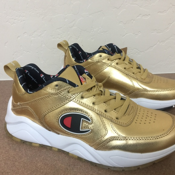 champion shoes gold